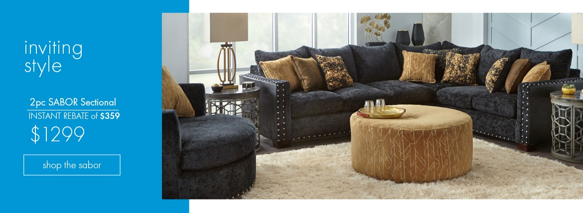 Sabor 2pc Sectional