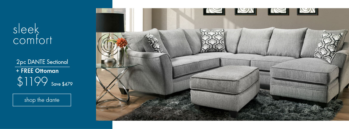 Dante 2pc Sectional