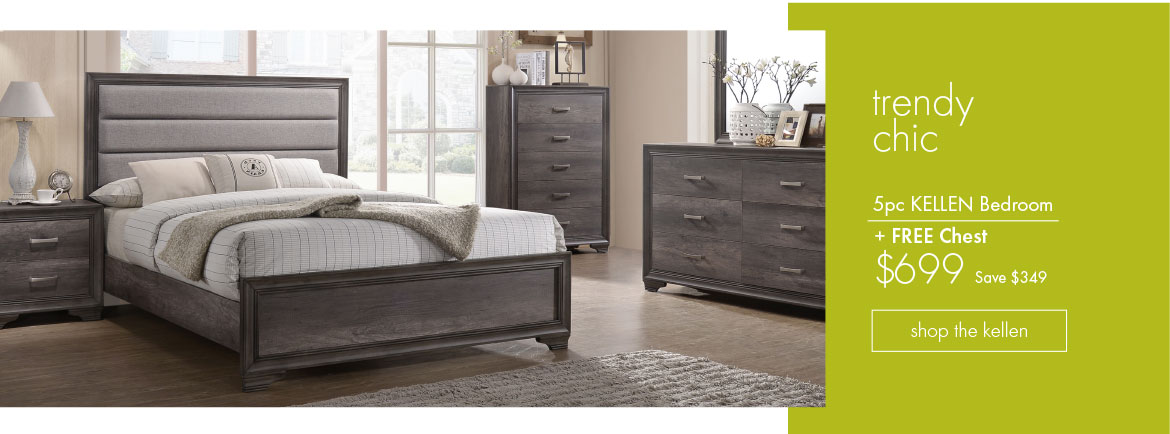 Kellen 5pc Bedroom