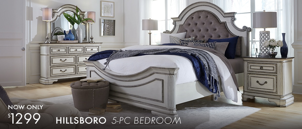 Hillsboro 5 Pc Queen Bedroom